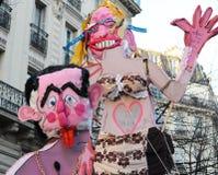Carnevale di Parigi 2011 Fotografie Stock