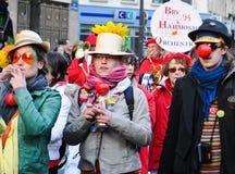 Carnevale di Parigi 2011 Fotografie Stock Libere da Diritti