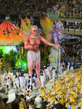 Carnevale di Rio, 2008. Immagini Stock Libere da Diritti
