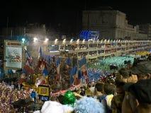 Carnevale di Rio, 2008. Fotografia Stock