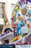 Carnevale 2014 di Santa Cruz de Tenerife Immagine Stock