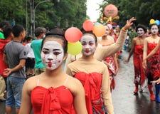 Carnevale di Surakarta Immagine Stock