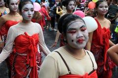 Carnevale di Surakarta Fotografia Stock
