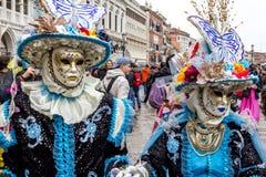 Carnevale di Venezia Foto de Stock Royalty Free