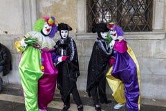 Carnevale di Venezia Fotografia de Stock Royalty Free