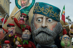 Carnevale di viareggio 2011 Royalty Free Stock Image