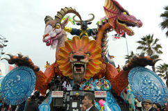 Carnevale Di viareggio 2011 Stock Fotografie