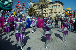 Carnevale di viareggio 2011 Royalty Free Stock Photos