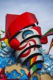 Carnevale di Viareggio Fotografia Stock