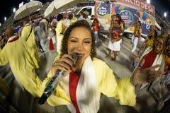 Carnevale 2019 - Estacio de Sa fotografia stock libera da diritti