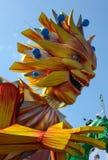 Carnevale francese di Nizza fotografia stock libera da diritti