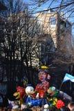 Carnevale - galleggiante americano Fotografia Stock
