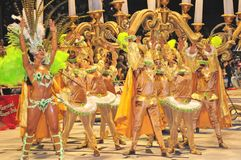 Carnevale in gualeguaychu fotografie stock libere da diritti
