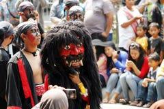 Carnevale indonesiano della cultura Fotografia Stock Libera da Diritti