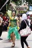 Carnevale indonesiano della cultura Immagini Stock Libere da Diritti