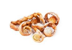 Carnevale italiano del dessert tipico, immagini stock