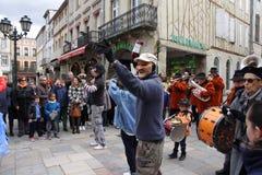 Carnevale in Limoux Immagini Stock