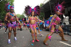 Carnevale Londra 2012 di Notting Hill Fotografie Stock
