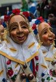 Carnevale mascherato Figues immagine stock