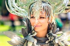Carnevale a Mosca, Russia Fotografia Stock Libera da Diritti