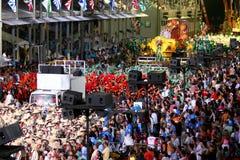 Carnevale a Rio Fotografia Stock