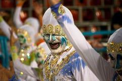 Carnevale in Rio de Janeiro Fotografie Stock Libere da Diritti