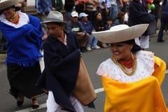 Carnevale Riobamba Equador Fotografia Stock Libera da Diritti