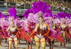 Carnevale Samba Dancer Brazil Immagini Stock Libere da Diritti