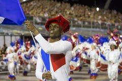 Carnevale Samba Dancer Brazil Fotografie Stock