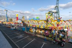 Carnevale 2014 in Santa Cruz de Tenerife Fotografia Stock Libera da Diritti