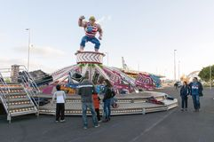 Carnevale 2014 in Santa Cruz de Tenerife Fotografie Stock Libere da Diritti