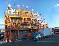 Carnevale 2014 in Santa Cruz de Tenerife Immagini Stock Libere da Diritti
