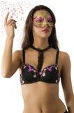 Carnevale sexy Fotografia Stock