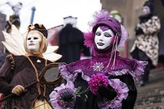 Carnevale storico Immagine Stock