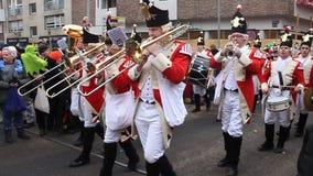 Carnevale tradizionale in Colonia stock footage