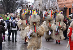 Carnevale a Transferrina Fotografia Stock Libera da Diritti