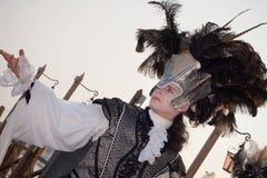 Carnevale a Venezia Fotografie Stock Libere da Diritti