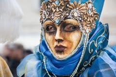 Carnevale a Venezia L'Italia Immagine Stock Libera da Diritti