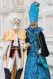 Carnevale a Venezia L'Italia Fotografia Stock Libera da Diritti