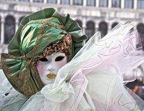 Carnevale Venezia, mascherina Immagini Stock
