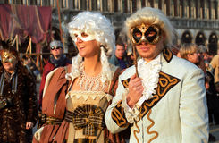 Carnevale, Venice, Italy Stock Images