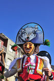 Carnevale in Verin Spagna Immagine Stock