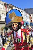 Carnevale in Verin Spagna Immagini Stock Libere da Diritti