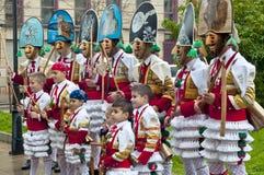 Carnevale in Verin Spagna Fotografie Stock Libere da Diritti