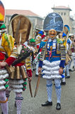 Carnevale in Verin Spagna Fotografie Stock
