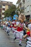Carnevale in Verin Spagna Fotografia Stock