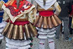 Carnevale in Verin Spagna Fotografia Stock Libera da Diritti