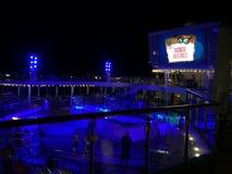 Carnevale Victory Cruise Deck Fotografie Stock