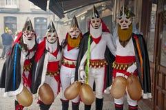 Carnevale in Xinzo de Limia Immagine Stock Libera da Diritti