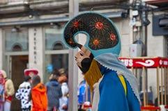 Carnevale in Xinzo de Limia Fotografia Stock Libera da Diritti